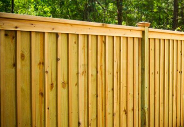 Wood Fence - United General Service (UGS) 1
